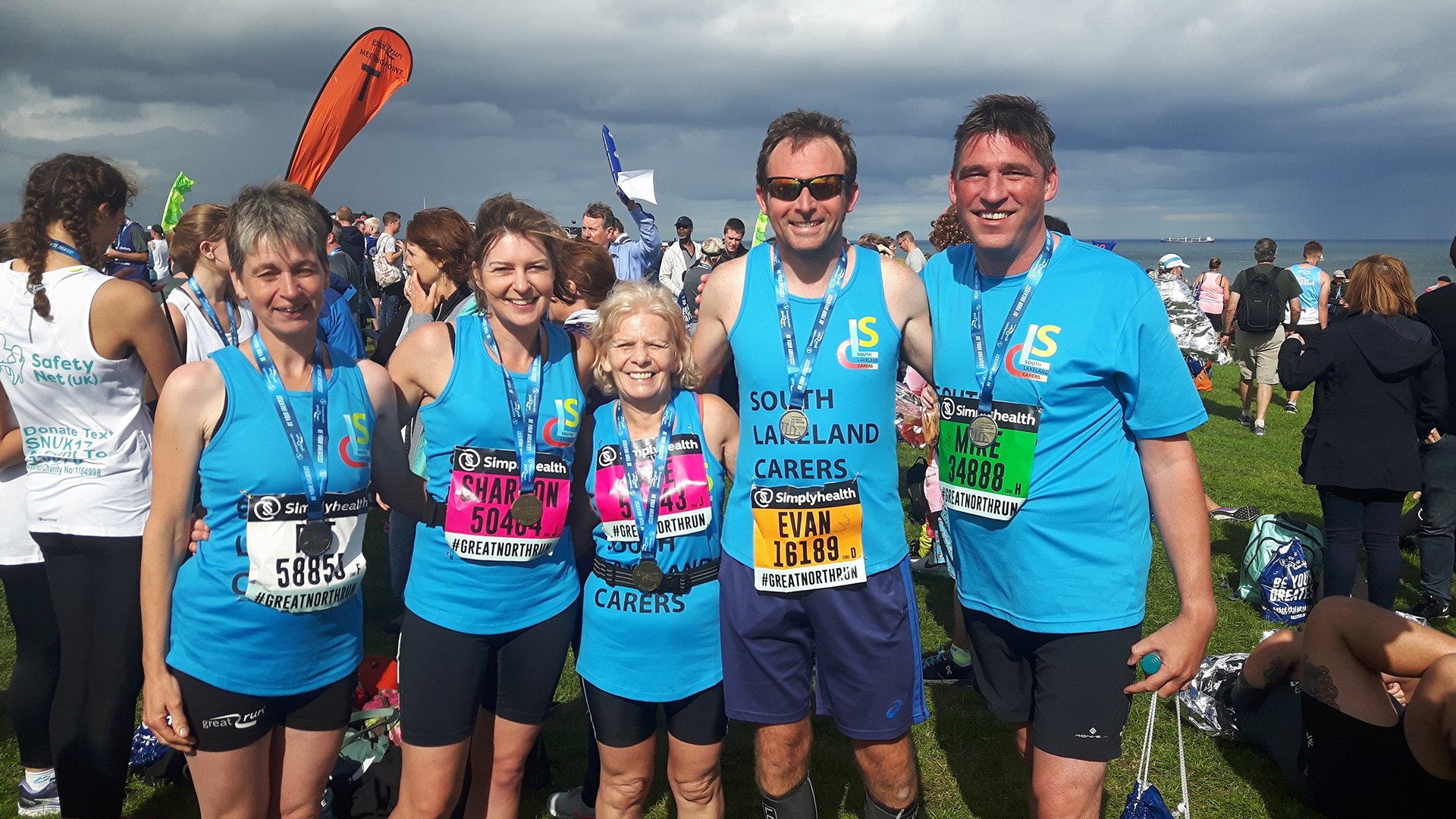 Carer Support South Lakes Great North Run